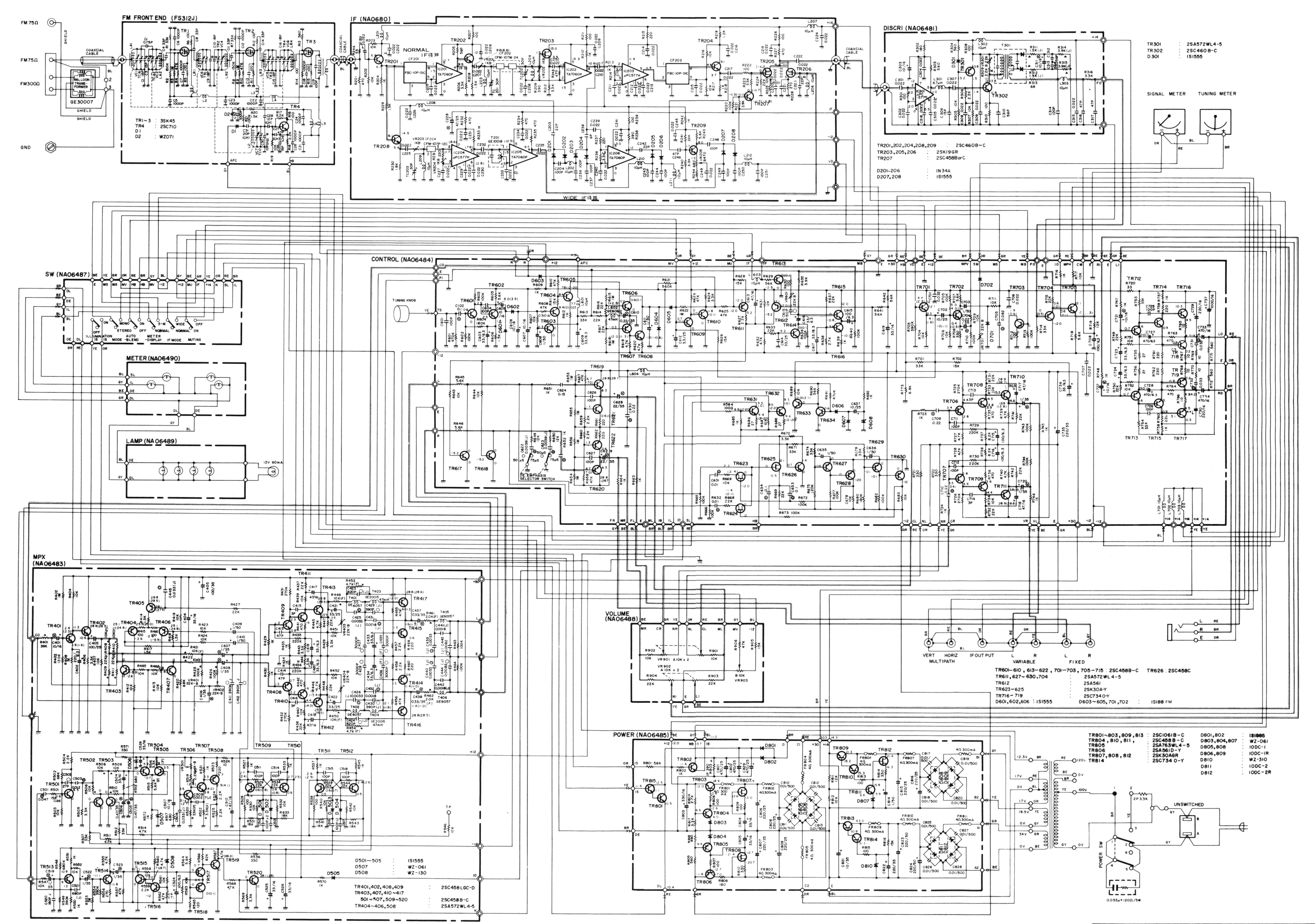 CT 7000schematic tuner information center yamaha tuners yamaha schematic diagram at nearapp.co