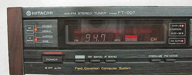 Hitachi 5x ha12412 FM IF système