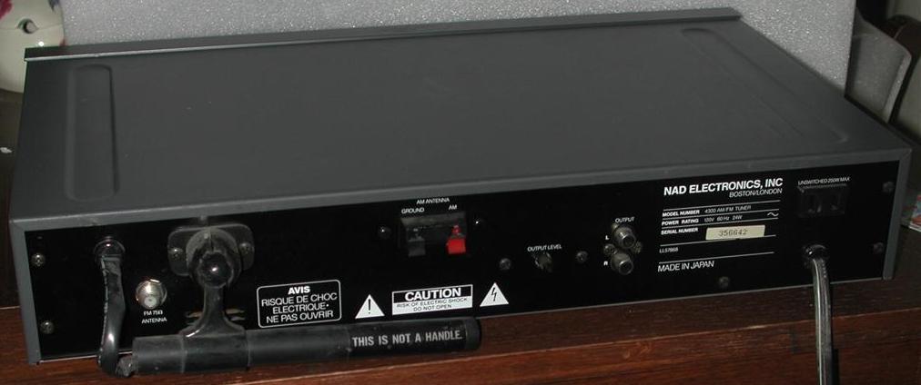 NAD4300back tuner information center tuner reviews m n Gap Titan Antenna Wiring Diagram at reclaimingppi.co
