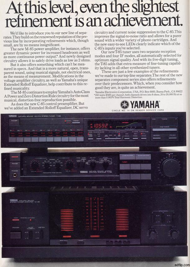 Tuner Information Center - Yamaha Tuners