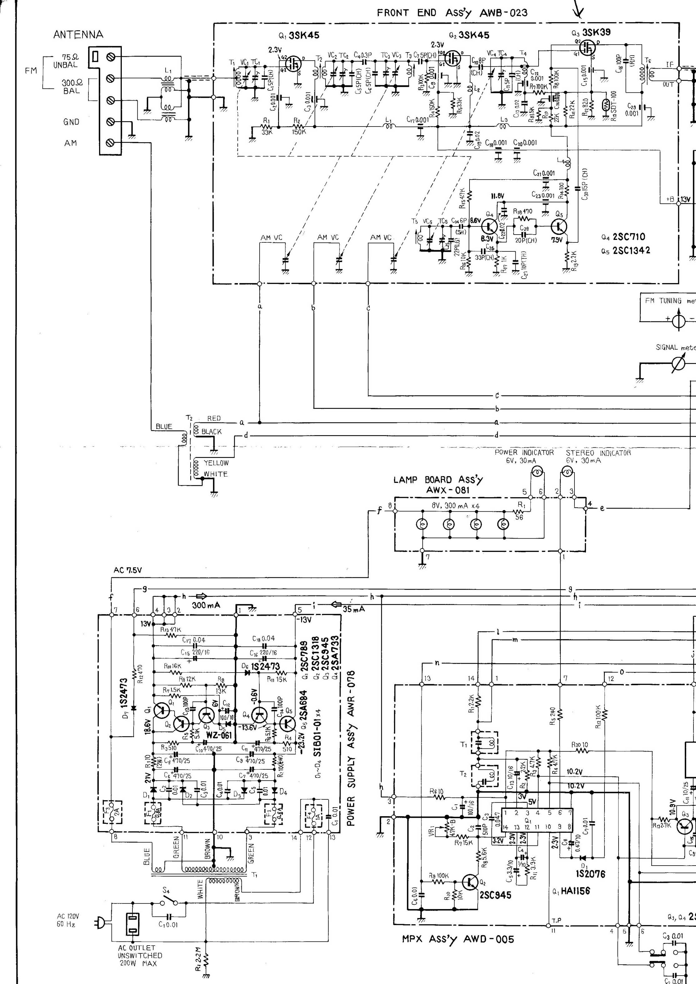 Pioneer Wiring Diagram 2 Fly Deh 2000 Tuner Information Center Tuners Rh Fmtunerinfo Com Car Stereo Mvh S301bt Diagrams